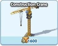 SimCity Social, Construction Crane