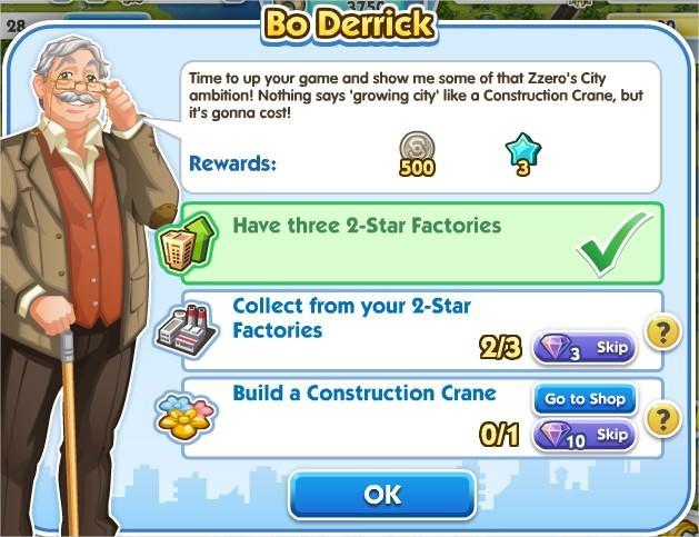 SimCity Social, Do Derrick