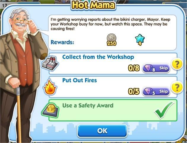 SimCity Social, Hot Mama