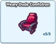 SimCity Social, Weary-Dude Comfotorn