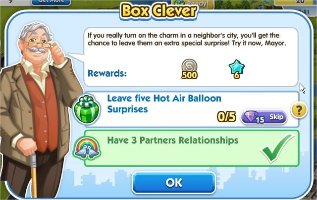 SimCity Social, Box Clever