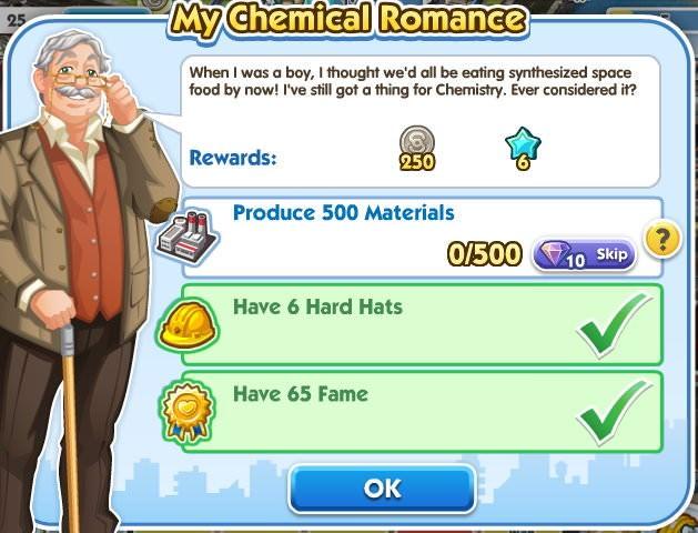 SimCity Social, My Chemical Romance