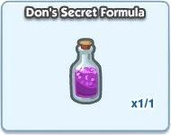 SimCity Social, Don's Secret Formula