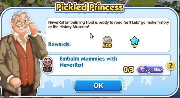 SimCity Social, Pickled Princess