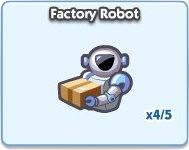 SimCity Social, Factory Robot