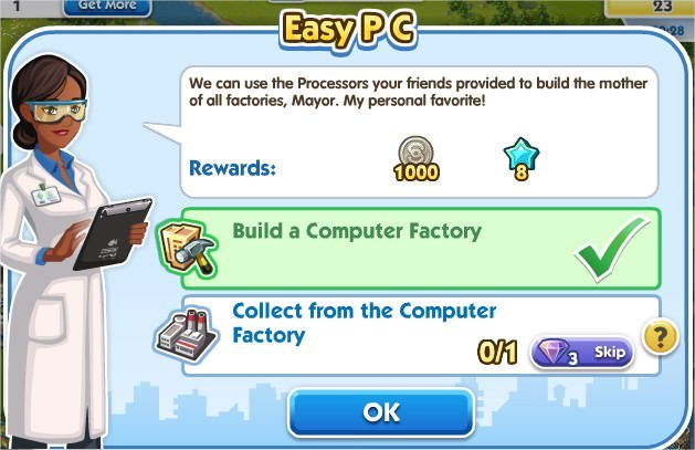 SimCity Social, Easy PC