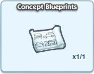 SimCity Social, Concept Blueprints
