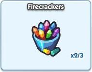 SimCity Social, Firecarackers