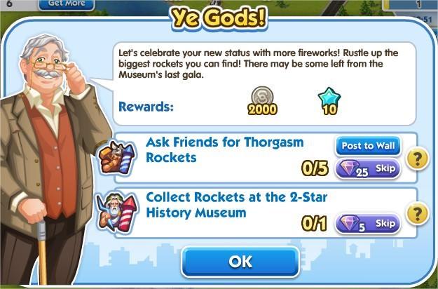 SimCity Social, Ye Gods!