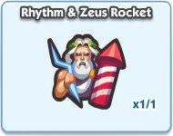 SimCity Social, Rhythm & Zeus Rocket