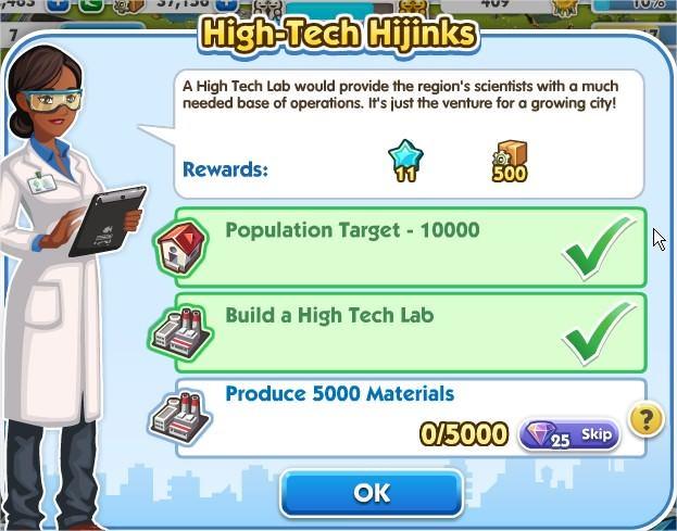 SimCity Social, High-Tech Hijinks