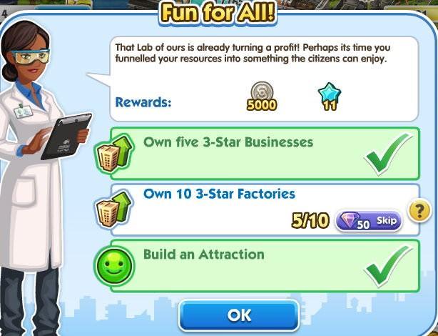 SimCity Social, Fun for All!