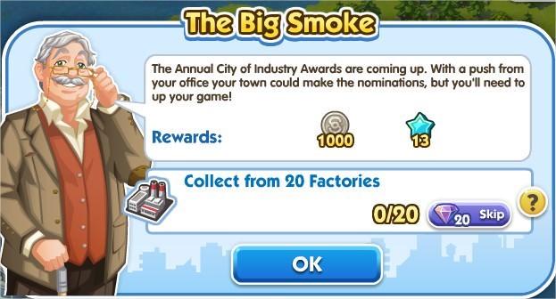 SimCity Social, The Big Snoke