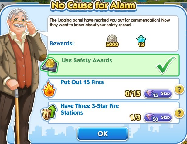 SimCity Social, No cause for Alarm