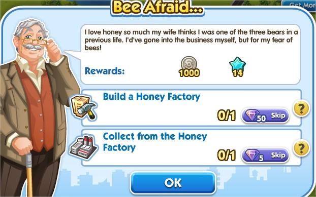 SimCity Social, Bee Afraid...