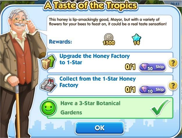 SimCity Social, A Taste of the Tropics