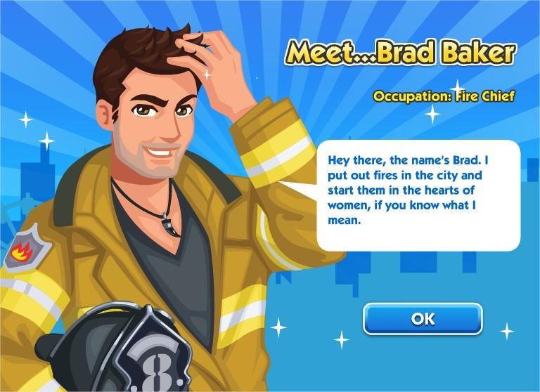 SimCity Social, Brad Baker