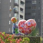 闕小豪的100顆愛心, 141104, 蝸牛, 草悟廣場(台中市西區)