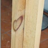闕小豪的100顆愛心, 140822, 木頭紋路