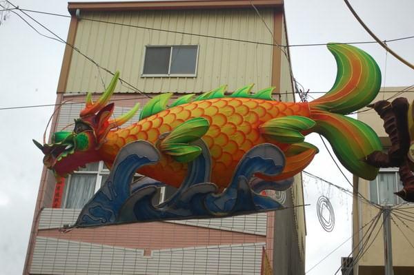 鰲魚(招財進寶龍),  鹿港燈會燈籠