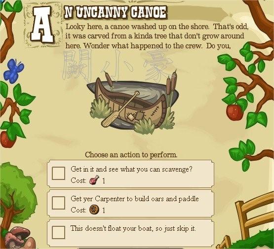 Pioneer Trail, Story Scroll