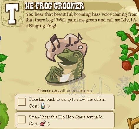 The Frog Crooner