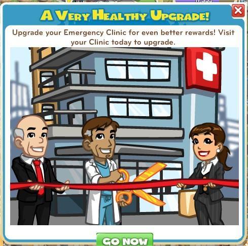 CityVille, Emergency Clinic