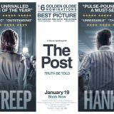 Movie, The Post(美國) / 郵報:密戰(台) / 戰雲密報(港) / 华盛顿邮报(網), 電影海報, 美國, 橫版