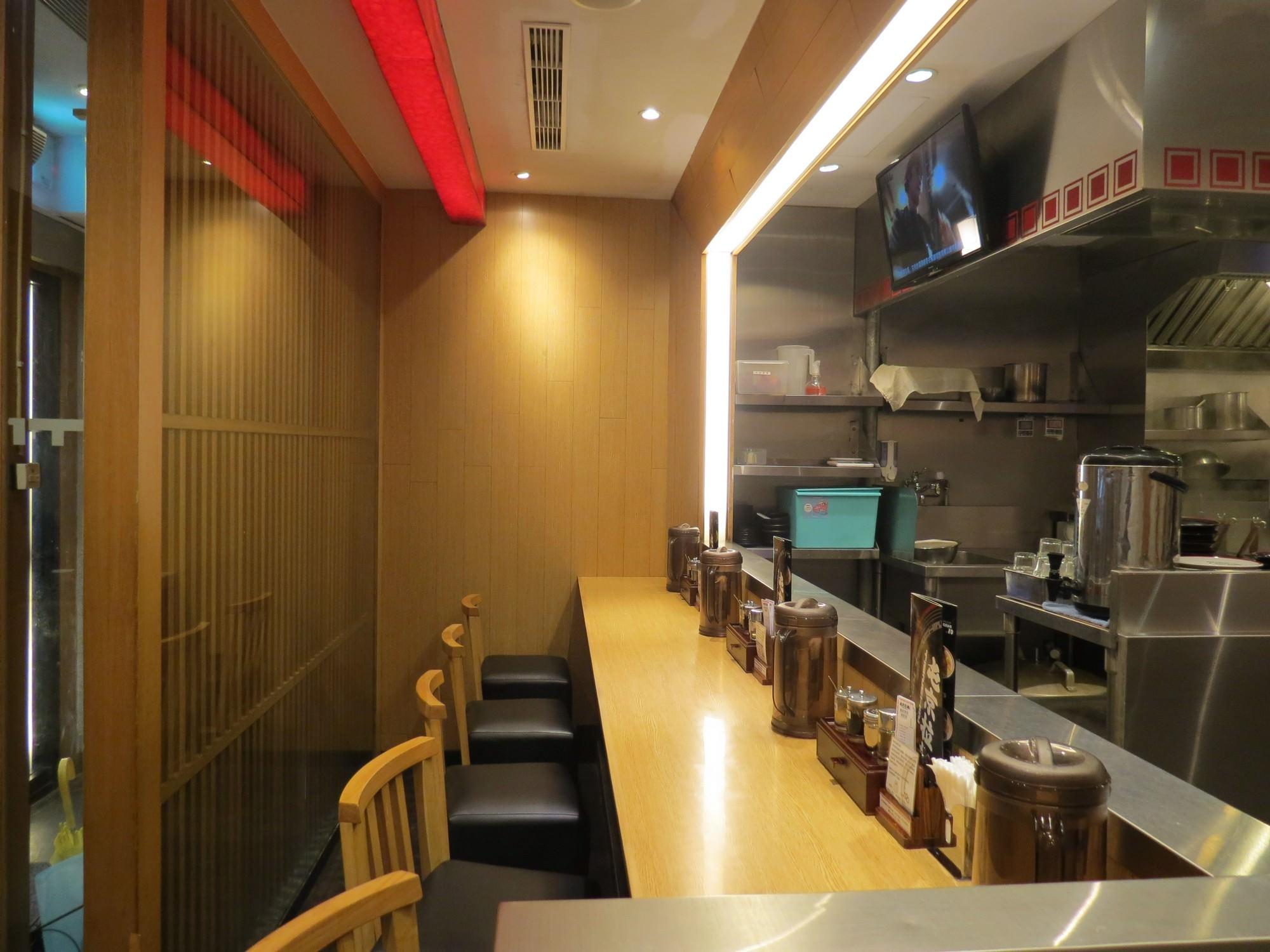 屯京拉麵@中山店, 用餐空間