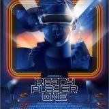 Movie, Ready Player One(美國) / 一級玩家(台) / 头号玩家(中) / 挑戰者1號(港), 電影海報, 美國