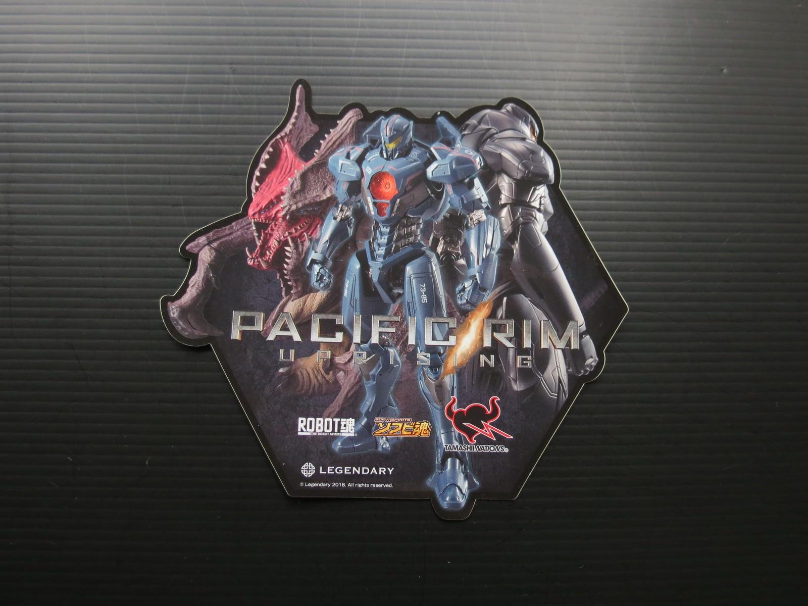 Movie, Pacific Rim: Uprising(美國) / 環太平洋2:起義時刻(台) / 环太平洋:雷霆再起(中) / 悍戰太平洋2:起義時空(港), 周邊商品, 貼紙