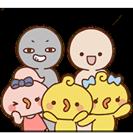 Facebook, 貼圖商店, Piyomaru 和朋友