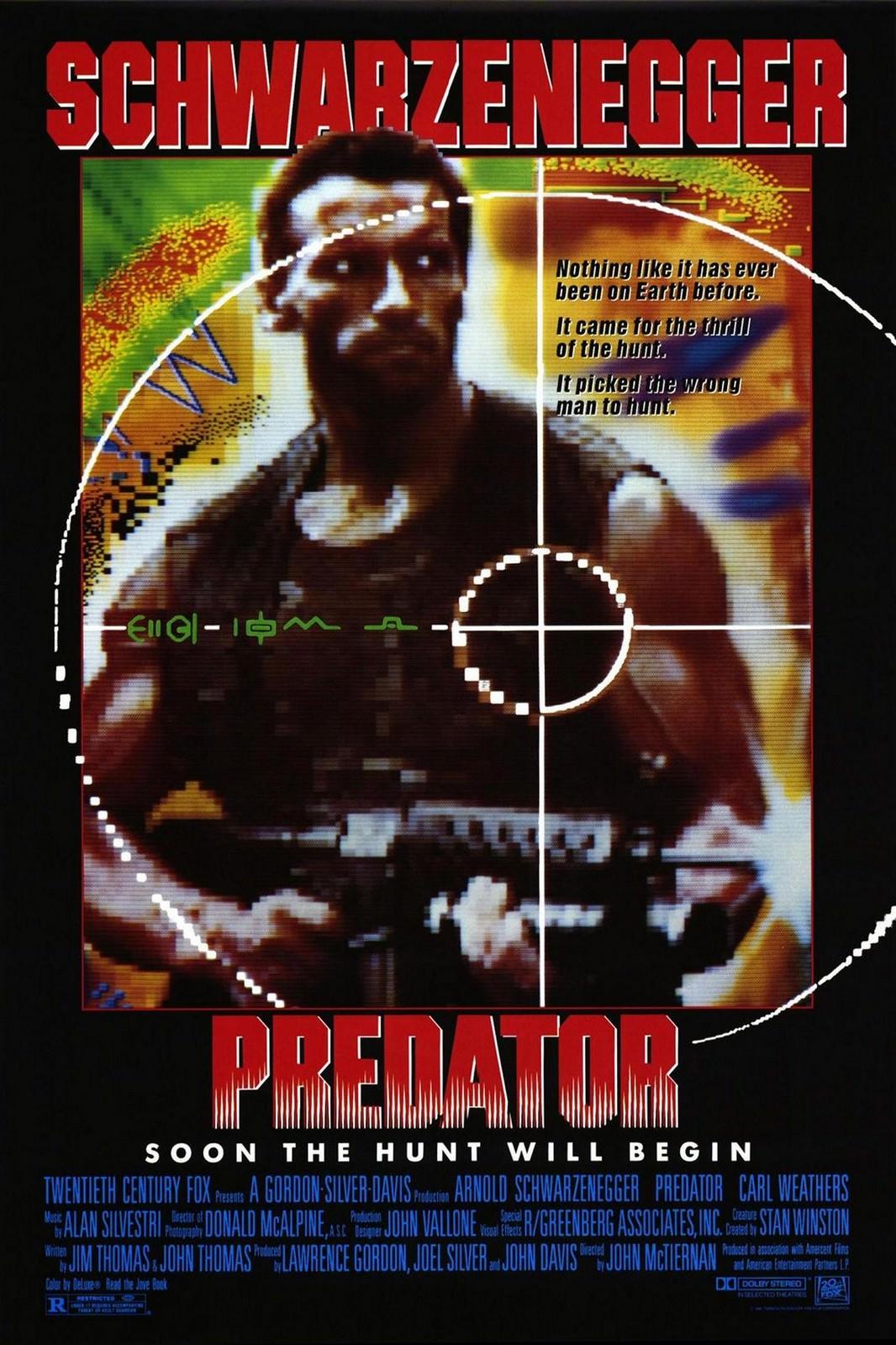 Movie, Predator(美國, 1987) / 終極戰士(台) / 铁血战士(中) / 鐵血戰士(港), 電影海報, 美國