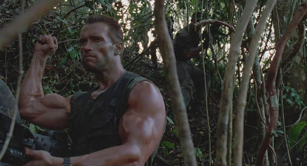 Movie, Predator(美國, 1987) / 終極戰士(台) / 铁血战士(中) / 鐵血戰士(港), 電影畫面
