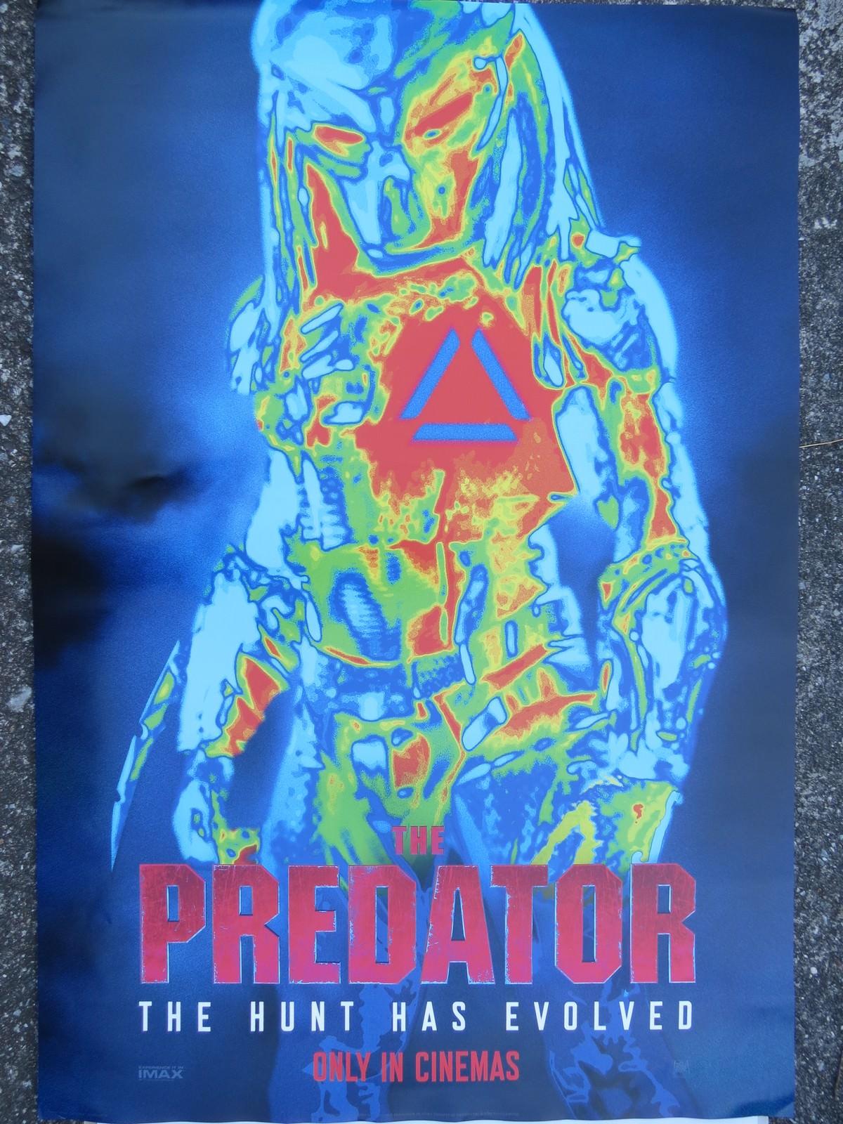 Movie, The Predator(美國, 2018) / 終極戰士:掠奪者(台) / 铁血战士(中) / 鐵血戰士:血獸進化(港), 原版電影海報
