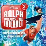 Movie, Ralph Breaks the Internet(美國, 2018年) / 無敵破壞王2:網路大暴走(台灣) / 无敌破坏王2:大闹互联网(中國) / 無敵破壞王2:打爆互聯網(香港), 電影海報, 印度, 橫版