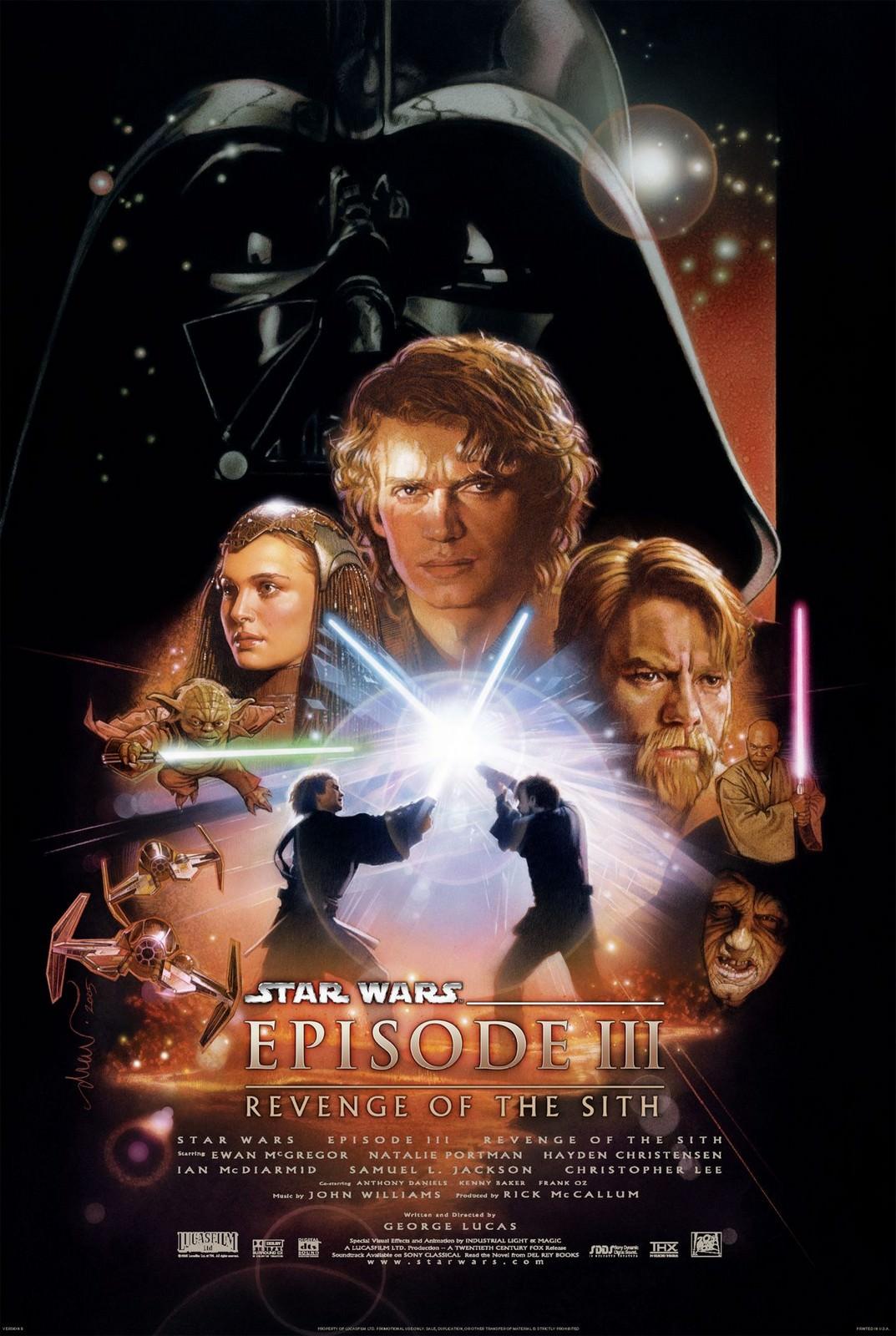 Movie, Star Wars Episode III: Revenge of the Sith(美國, 2005) / 星際大戰三部曲:西斯大帝的復仇(台灣) / 星球大战前传:西斯的复仇(中國) / 星球大戰前傳:黑帝君臨(香港), 電影海報, 美國