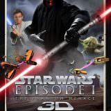Movie, Star Wars: Episode I - The Phantom Menace(美國, 1999) / 星際大戰首部曲:威脅潛伏(台灣) / 星球大战前传:幽灵的威胁(中國) / 星球大戰前傳:魅影危機(香港), 電影海報, 美國, 3D重映版