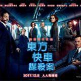 Movie, Murder on the Orient Express(美國, 2017) / 東方快車謀殺案(台灣.香港) / 东方快车谋杀案(中國), 電影海報, 台灣, 橫版