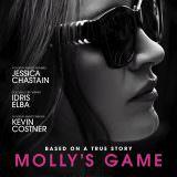 Movie, Molly's Game(美國, 2017) / 決勝女王(台灣) / 莫莉遊戲(香港) / 茉莉牌局(網路), 電影海報, 美國