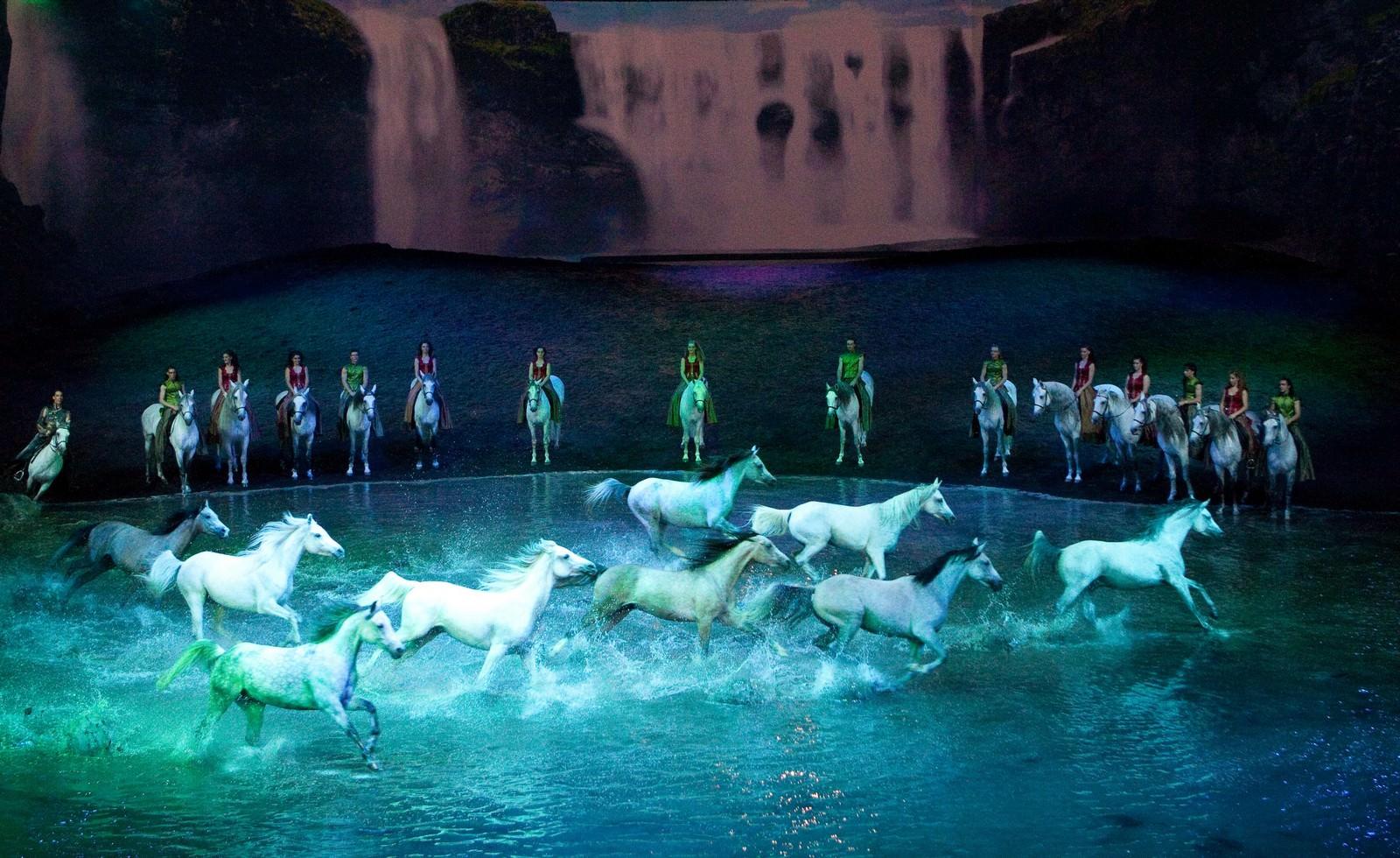 Movie, Odysseo by Cavalia(韓國, 2015年) / 夢幻舞馬-卡瓦利亞(台灣), 電影劇照, 表演內容介紹