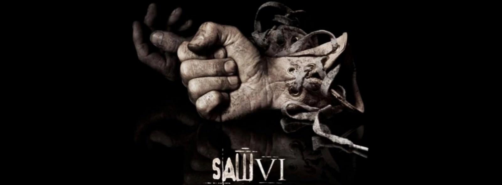 Movie, Saw VI(美國, 2009年) / 奪魂鋸6(台灣) / 恐懼鬥室6:萬罰朝中(香港) / 电锯惊魂6(網路), 電影海報, 美國, 橫版