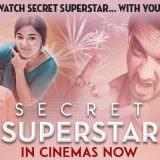 Movie, Secret Superstar(印度, 2017年) / 隱藏的大明星(台灣) / 秘密巨星(中國), 電影海報, 印度, 橫版