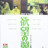 Movie, 阿飛正傳(香港, 1990) / 阿飛正傳(台灣) / 阿飞正传(中國) / Days of Being Wild(英文), 影碟封面, 日本
