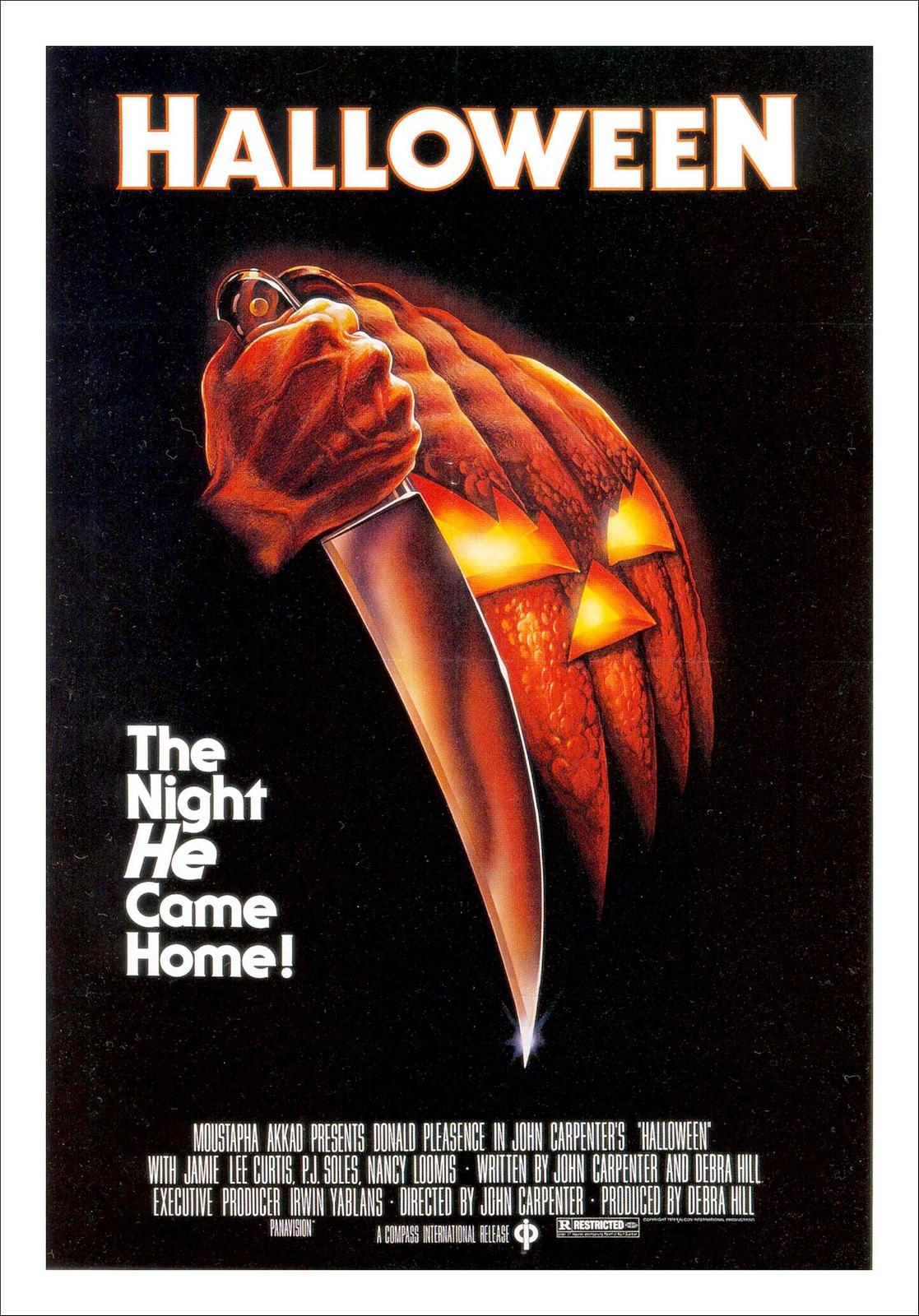 Movie, Halloween(美國, 1978年) / 月光光心慌慌(台灣), 電影海報 美國