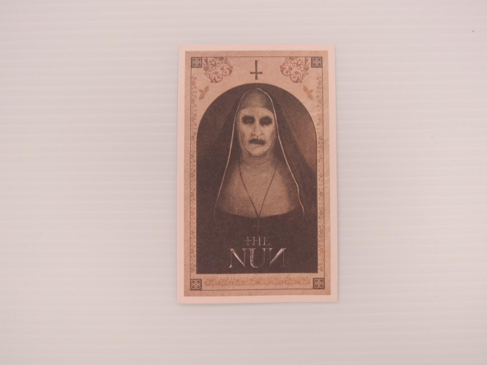 Movie, The Nun(美國, 2018) / 鬼修女(台) / 詭修女(港) / 修女(網), 特映會邀請卡