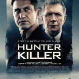 Movie, Hunter Killer(美國, 2018年) / 潛艦獵殺令(台灣) / 冰海陷落(中國) / 潛艦滅殺令(香港), 電影海報, 英國