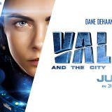 Movie, Valérian and the City of a Thousand Planets(法國, 2017年) / 星際特工瓦雷諾:千星之城(台灣) / 星际特工:千星之城(中國) / 星際特工:千星之城(香港), 電影海報, 美國, 橫版