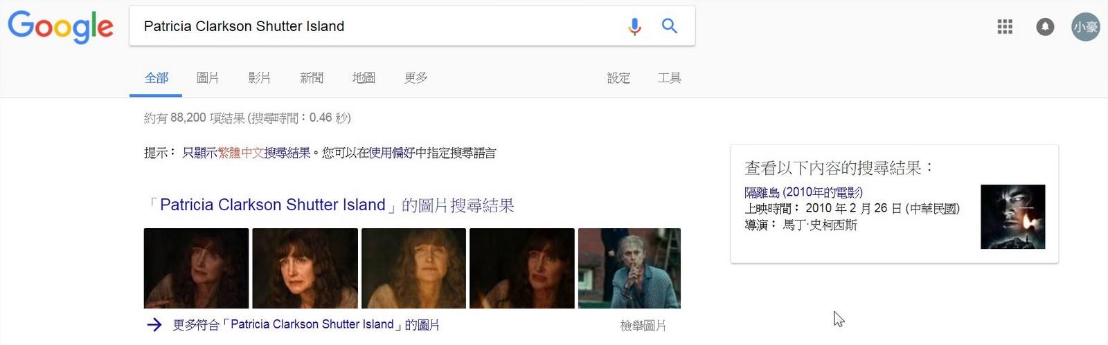 Movie, Shutter Island(美國, 2010年) / 隔離島(台灣) / 不赦島(香港) / 禁闭岛(網路), 資料搜尋, 角色與演員介紹