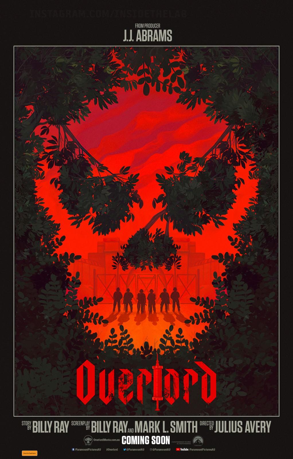 Movie, Overlord(美國, 2018年) / 大君主行動(台灣) / 大君主之役(香港) / 霸主(網路), 電影海報, 澳大利亞